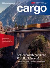 Cover des neuen Cargo Magazins