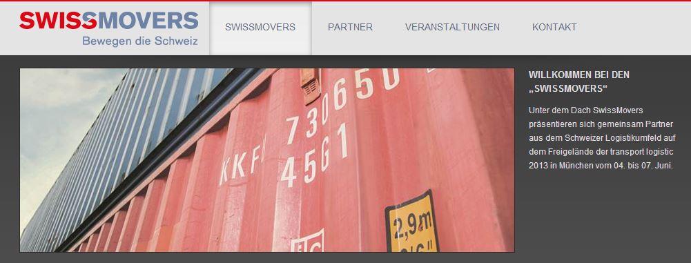 SwissMovers Startseite
