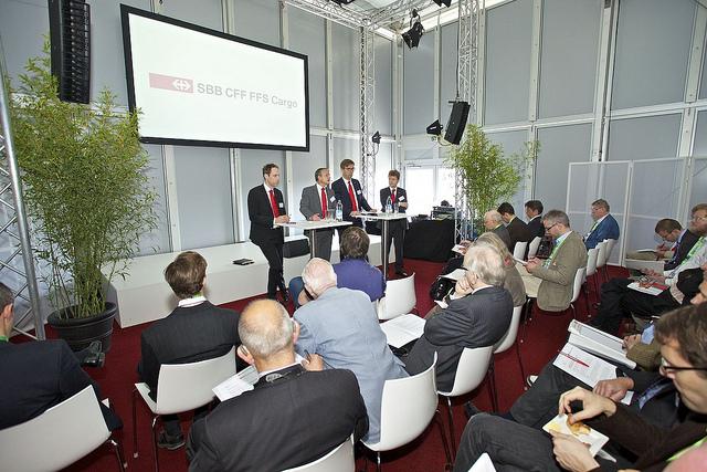 Pressefrühstück von SBB Cargo an der TL München
