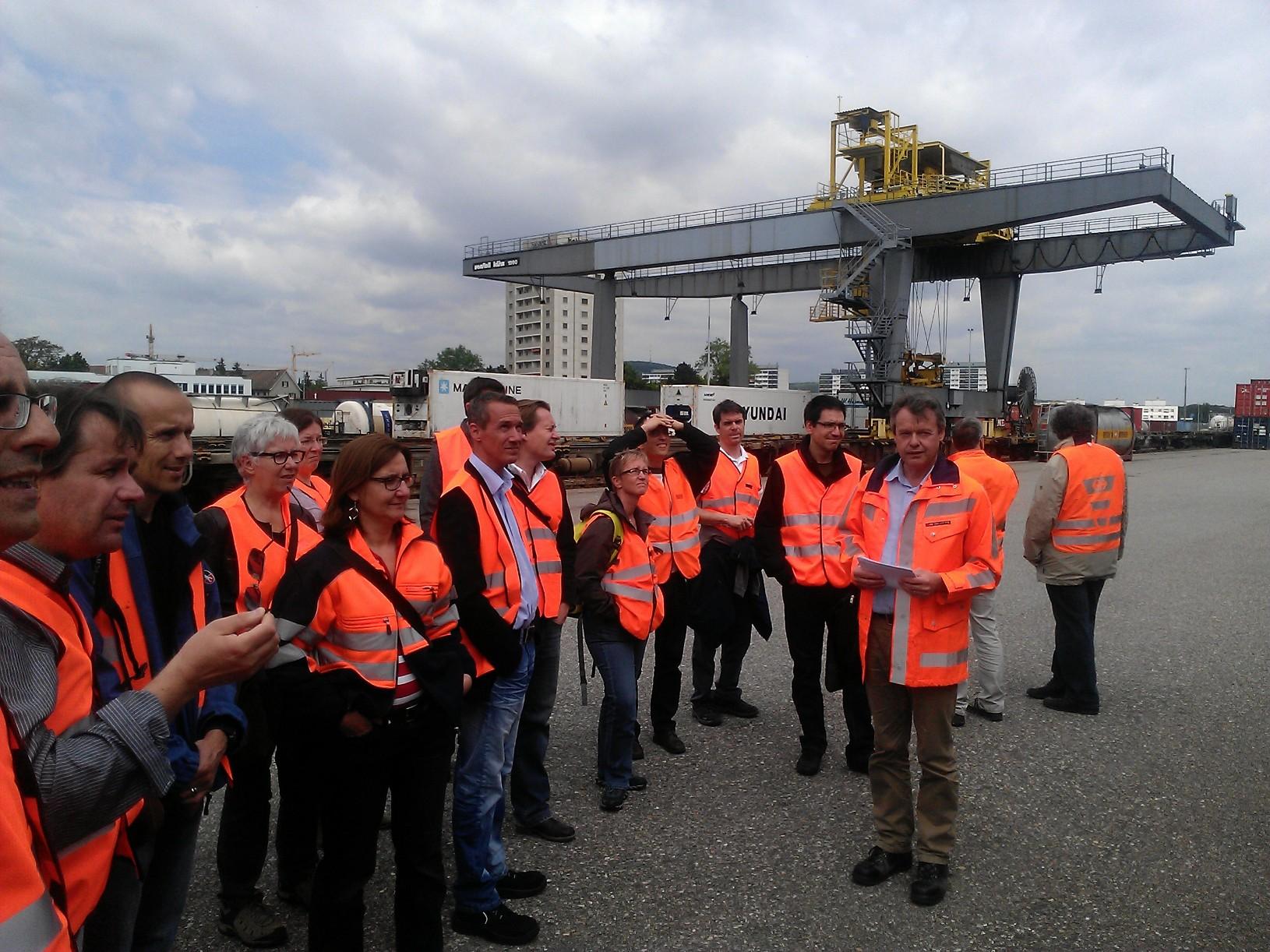 Mitarbeitende an der internen Veranstaltung von SBB Cargo.