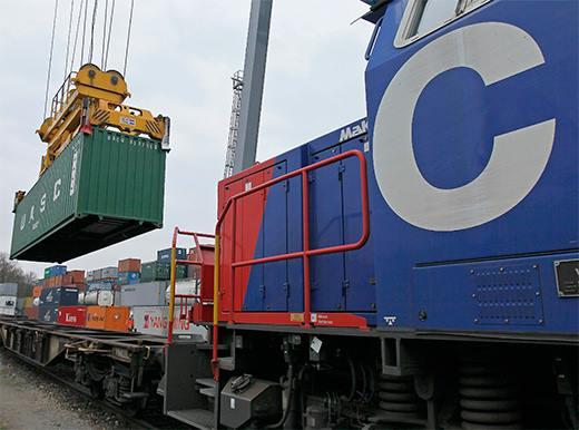 Container Umlad