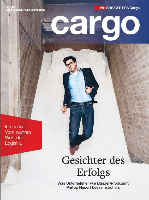 L'imprenditorialità è il tema centrale del nuovo numero della rivista Cargo. La rivista è disponibile dal 29 maggio 2014. All'abbonamento.