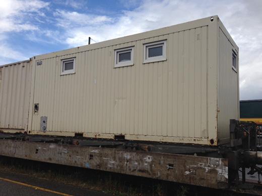 Ein Container von Das Zelt