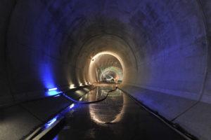 Bild des Tunnelabschnitts bei Camorino