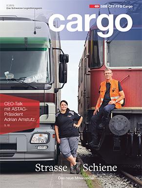 Das neue Cargo Magazin ist ab dem 24. August 2015 erhältlich. Im aktuellen Heft dreht sich alles um das Miteinander von Strasse und Schiene.