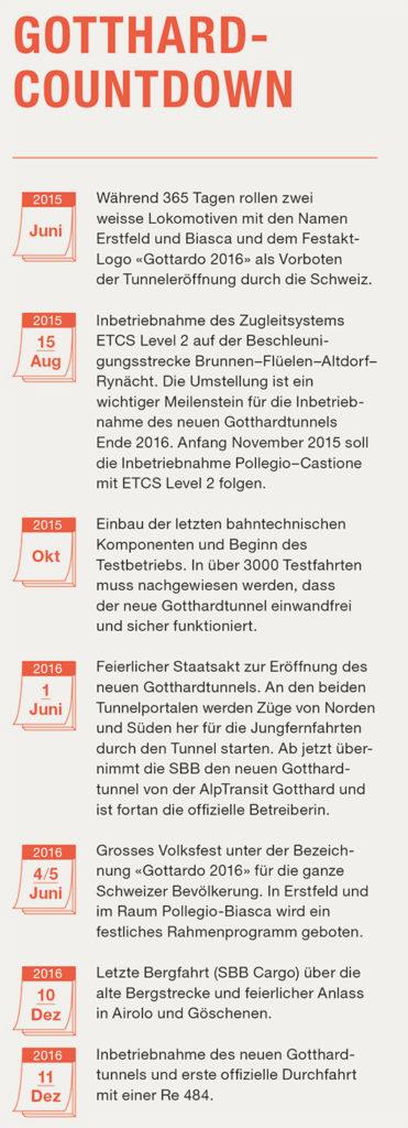 Gotthard-Countdown