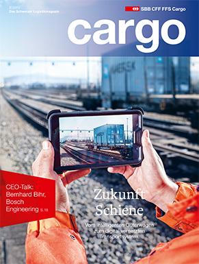 Das neue Cargo Magazin ist ab dem 30. November 2015 erhältlich. Im aktuellen Heft dreht sich alles um die Digitalisierung. Zum Abo.