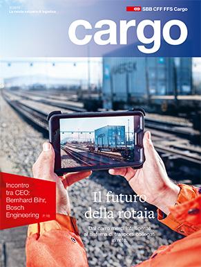 La nuova rivista cargo sarà disponibile dal 30 novembre 2015. Il numero attuale ruota interamente attorno alla digitalizzazione.
