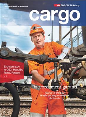 Le nouveau magazine Cargo est disponible dès le 31août 2016. Cette nouvelle édition aborde le trafic par wagons complets.