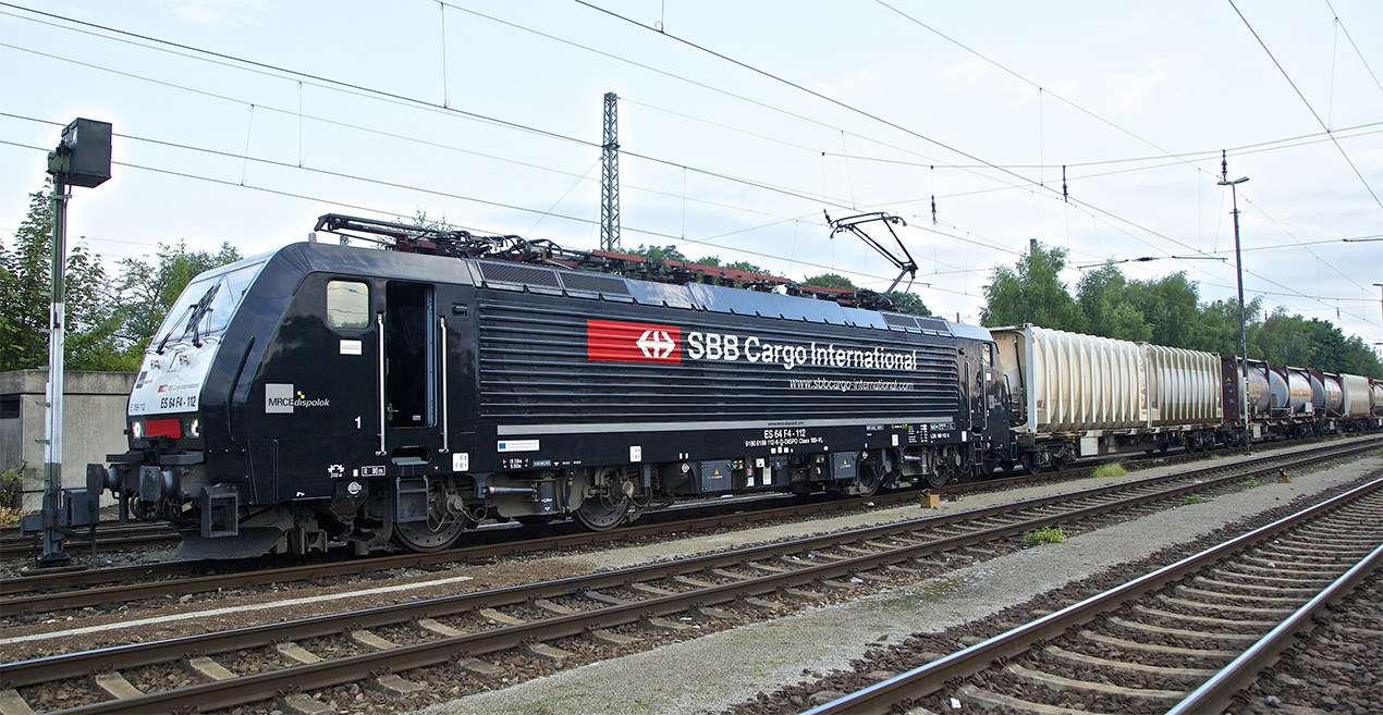 Lok von SBB Cargo International
