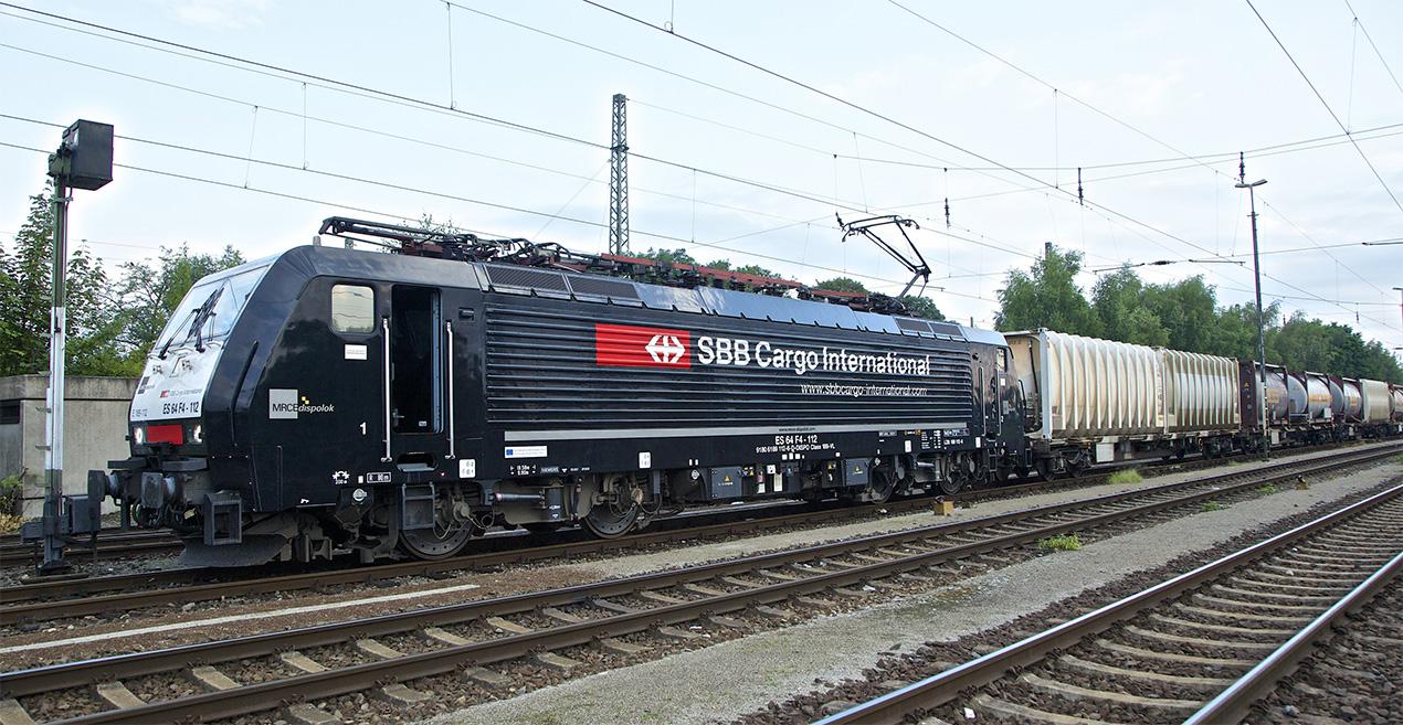 Lok von SBB Cargo International