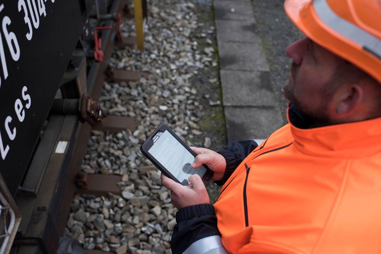 Mobile Wagenkontrolle Digitalisierung