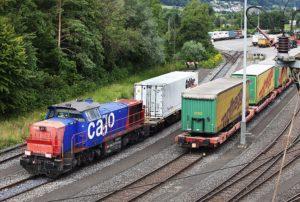 Digitalen Güterwagen