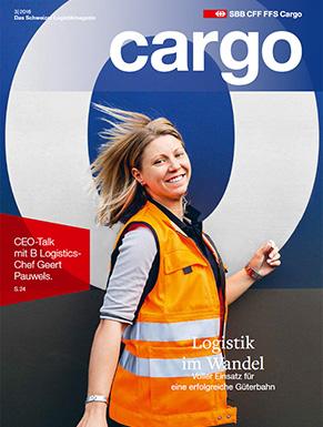Das neue Cargo Magazin ist ab dem 5. Dezember2016 erhältlich. Im aktuellen Heft dreht sich alles um die Logistik im Wandel.