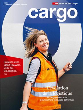 Le nouveau magazine Cargo est disponible dès le 5décembre 2016. Cette nouvelle édition aborde l'évolution de la logistique.