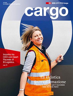 La nuova rivista cargo sarà disponibile dal 5dicembre 2016. Il numero attuale ruota interamente attorno la logistica in trasformazione.