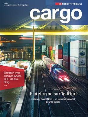 Le nouveau magazine Cargo est disponible dès le 19avril 2017. Cette nouvelle édition aborde la plateforme sur le Rhin.